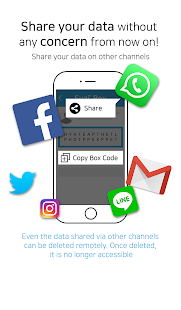 TransBox – Secure Data Sharing- screenshot thumbnail
