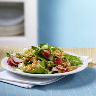 Spinach and Lentil Salad.