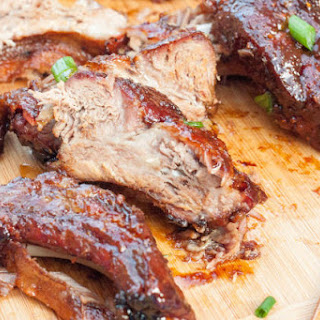 Gluten Free Sticky Asian Ribs.