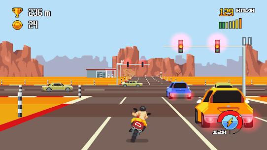 Retro Highway 1.0.27 Android APK Mod 2