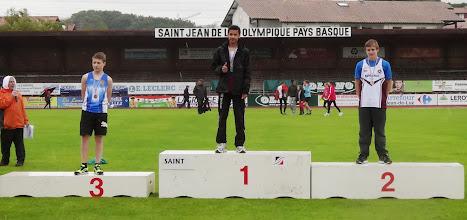 Photo: Brice Champion d'Aquitaine 50 m