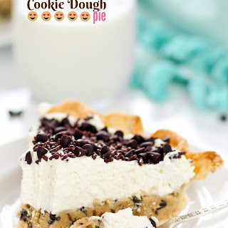 Vanilla Cream Cookie Dough Pie.