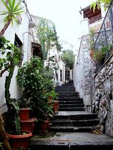 Photo: Steps up to Taormina