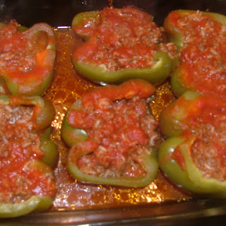 My Mom's Stuffed Peppers