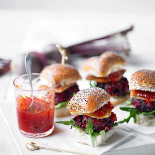 Beetroot and Halloumi Sliders with Chilli Jam Recipe