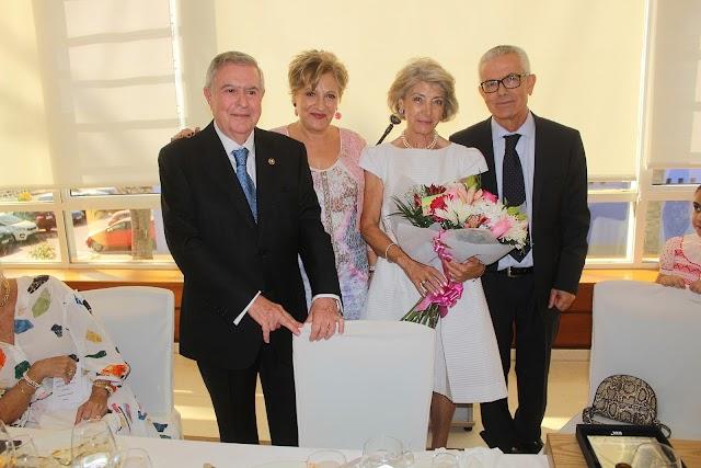Fernando Brea, Lourdes Molina, Yaya Sánchez y Antonio Pérez Gallegos.