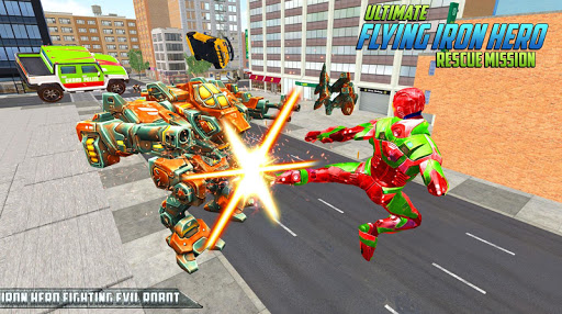 Ultimate KungFu Superhero Iron Fighting Free Game 1.35 screenshots 1