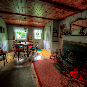 Michael's House by Chip Bolcik - Digital Art Places ( interior, house, antique )