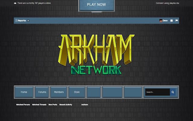 Arkham Dark Theme