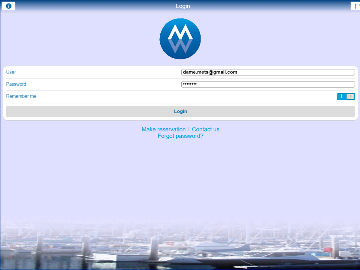 myMarina- screenshot