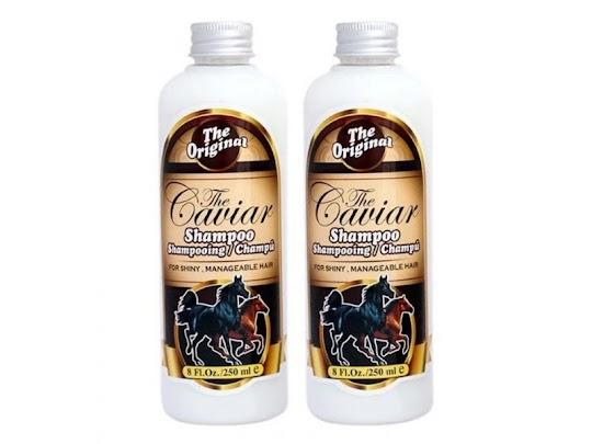 Caviar Shampoo perawatan menumbuhkan rambut memanjangkan atasi rontok rambut bercabang ketombe