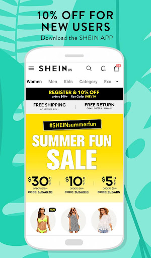 SHEIN-Fashion Shopping Online 6.6.4 screenshots 1
