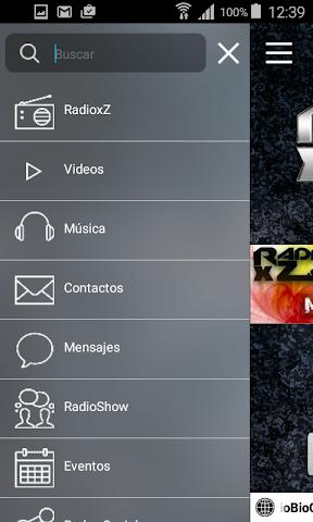android RadioxZ Screenshot 1