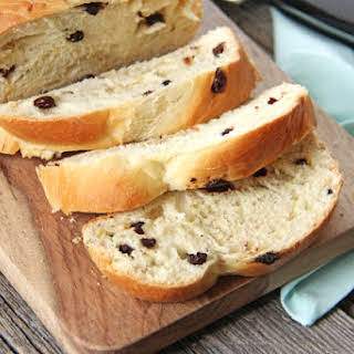Easter Panettone Bread.