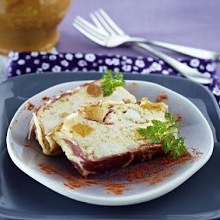 Chicken, Pistachio and Apricot Pâté.