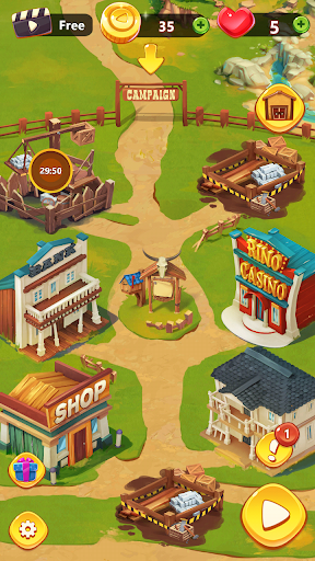 Settlers Trail Match 3: Build a town 11.140.10 {cheat|hack|gameplay|apk mod|resources generator} 3