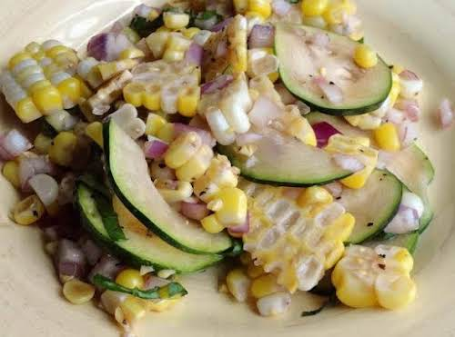 """Summer Roasted Corn Salad""""Summertime finds me with an overabundance of corn. This..."""