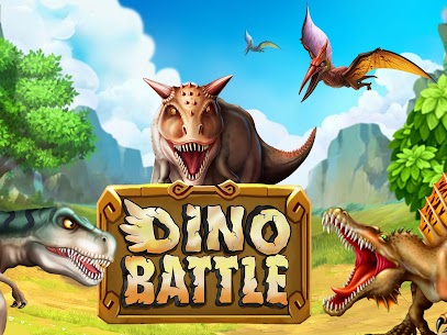 Dino Battle MOD APK (Unlimited Money) FREE 1