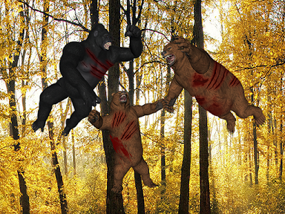 Gorilla Bear Battle - náhled