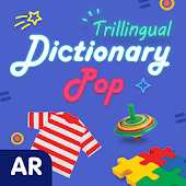 Dictionary Pop: Trillingual  |  AR Word Learning