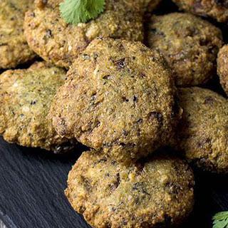 Indian Black-Eyed Pea Croquette [Vegan, Gluten-Free]