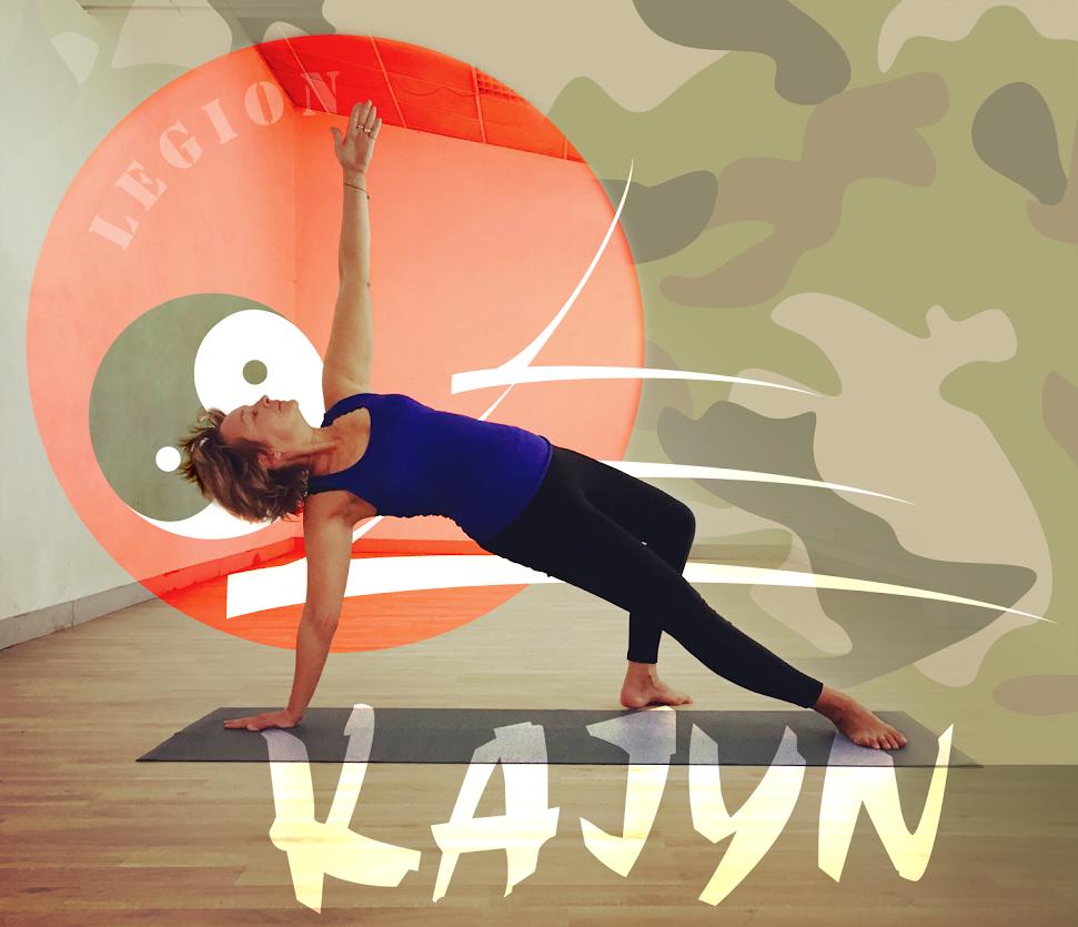 Eva Peel professeur de Yoga Vinyasa