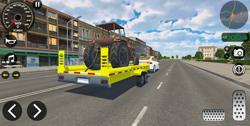 Télécharger Gratuit Car Driving Sim : Trailer Transport APK MOD (Astuce) screenshots 5