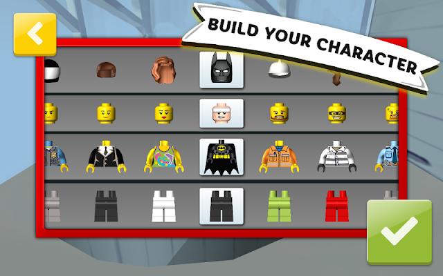 LEGO® Juniors Build & Drive - safe free kids game - screenshot