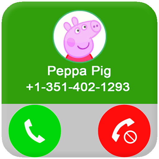 Fake call From Pepa Pig