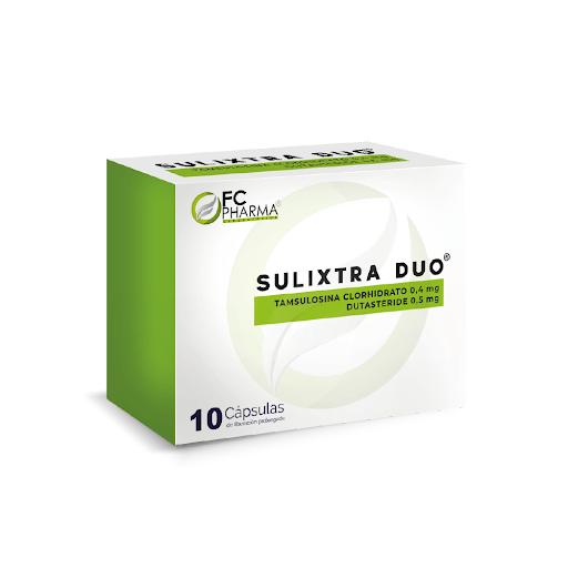 Tamsulosina + Dutasteride Sulixtra Duo 0,4mg/0,5mg