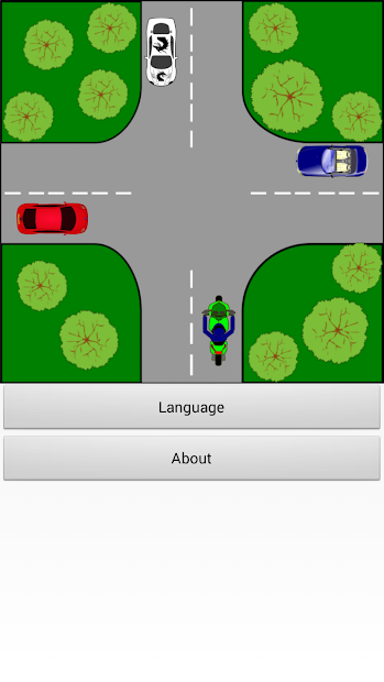 Driver Test: Crossroads Android App Screenshot