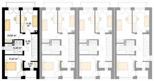 Wiąz - Rzut piętra