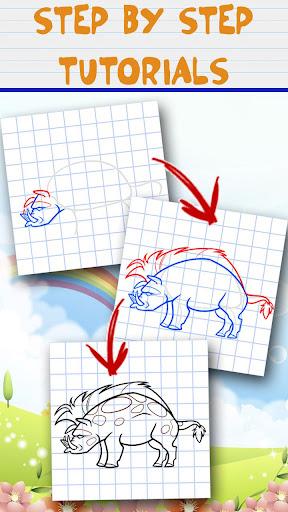 繪製動物 - 教程