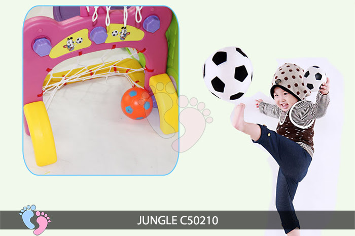 Cầu trượt cho bé Jungle C50210 15