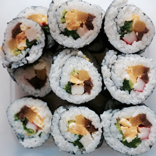 Kimbap (Korean Lunch Rolls)