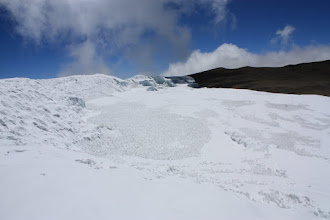 Photo: The top of the Northern Ice Field