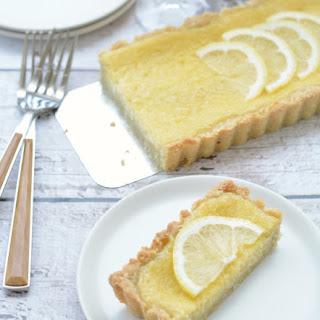 Easy Gluten Free Lemon Tart.
