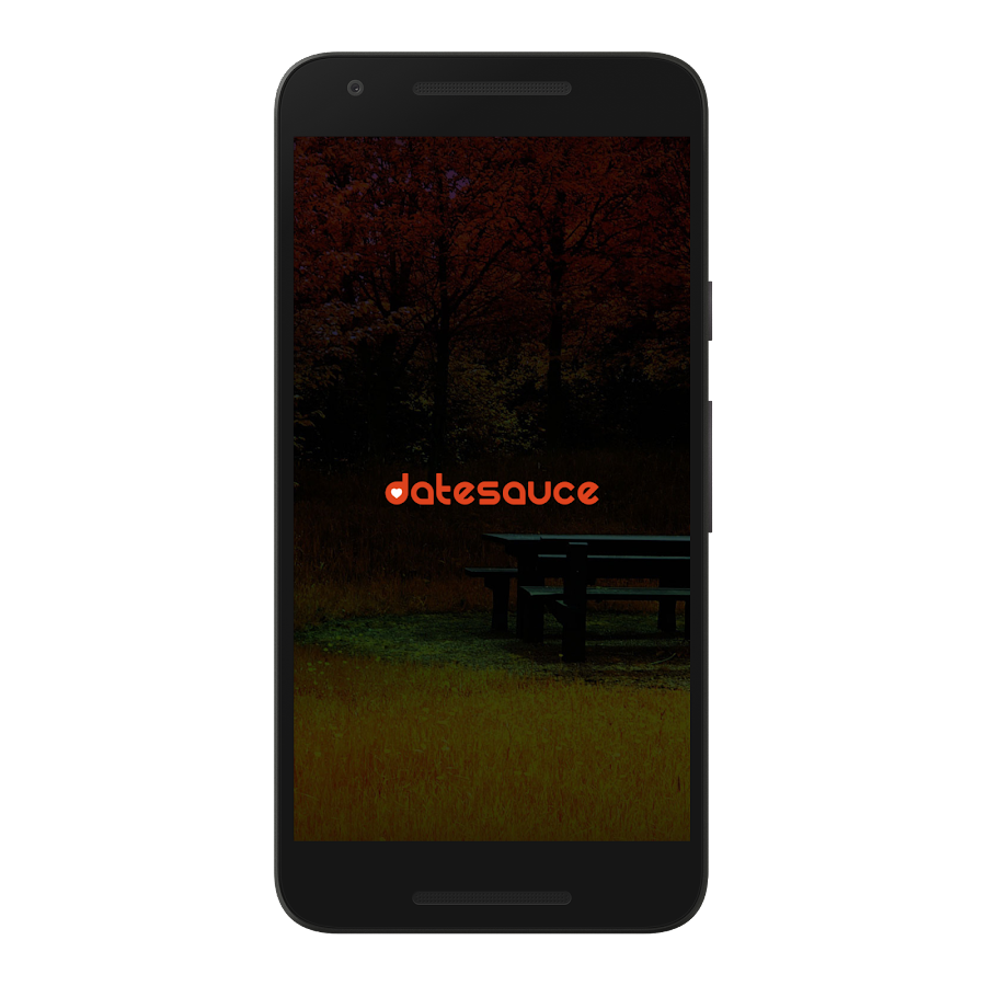 Datesauce- screenshot