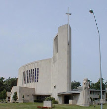 Photo: Dad was the associate architect on the Barry Byrne-designed St. Francis Xavier Church on Rockhill Rd. in Kansas City