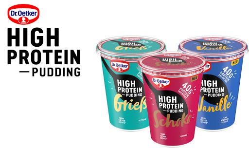 Bild für Cashback-Angebot: Dr. Oetker High Protein Pudding Gratis Testen - Dr.Oetker