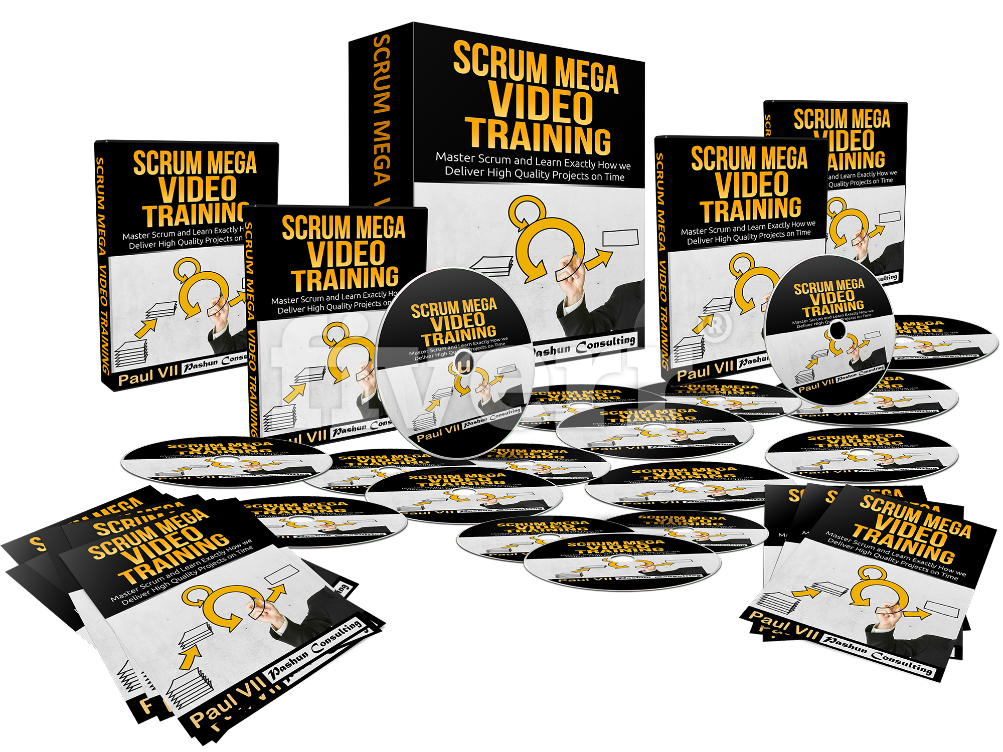Scrum Mega Video The Complete Video Training Course For Mastering