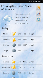 Local weather Screenshot 1
