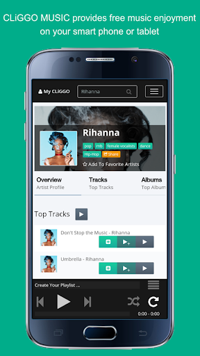 CLiGGO MUSIC – Free Radio & Music Streaming App 1.5.5 screenshots 1