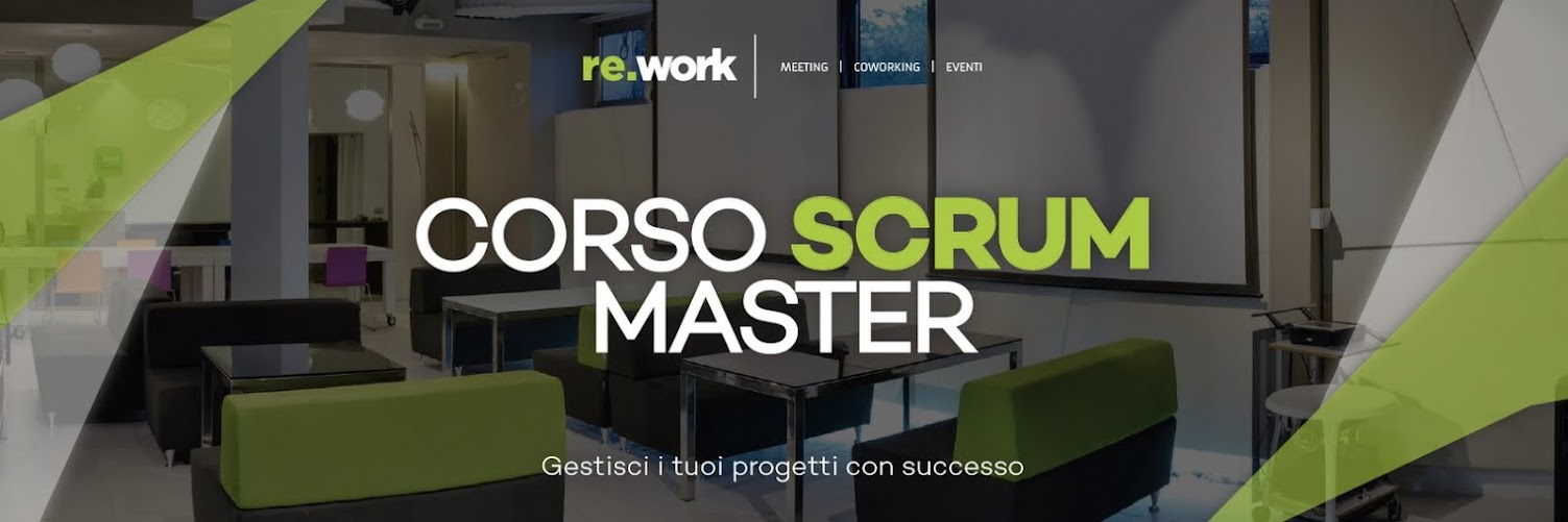 Corso SCRUM  Master - Re.WOrk