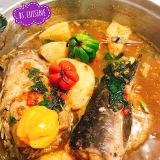 Yam and Catfish Pepper Soup.