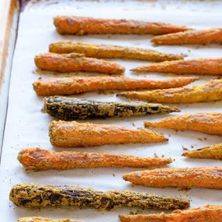 Tahini Roasted Carrots