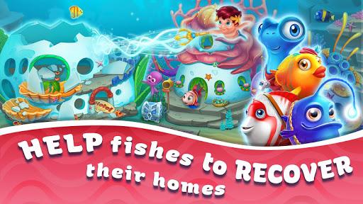 Seascapes : Trito's Match 3 Adventure 2.6 screenshots 9