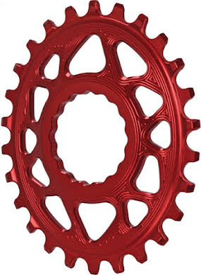 Absolute Black Spiderless Cinch Direct Mount Oval BOOST Chainring alternate image 2