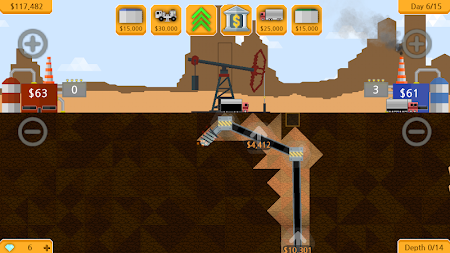 Petroleum - Explore, drill & sell! APK screenshot thumbnail 2