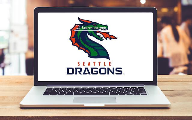 Seattle Dragons Wallpapers XFL Theme